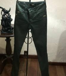 Calça verde Dimy