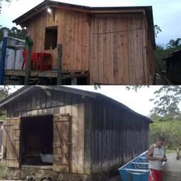 Rancho de pesca ( casa, pesca )