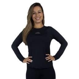 Camisa Feminina Manga Longa Proteção UV50
