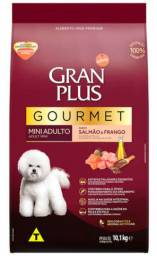 Gran plus mini adulto salmão e frango 10.1kg