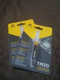 Pasta Térmica Corsair TM30 3g - desempenho em resfriamento