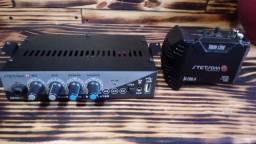 Vendo Mixer e Modulo amplificador