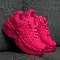 Tênis Feminino Sneaker Buffalo Plataforma