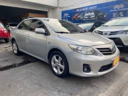 Título do anúncio: Toyota Corolla 1.8 Automático + couro  ar digital + gnv geração 5