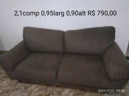 Sofa 210x95x90 comp larg alt semi novo