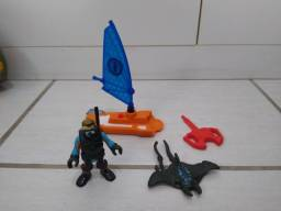 Agente de resgate windsurf Imaginext