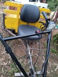 Carretinha de motocultivador