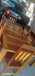 Jogos de mesas 4 e 6 cadeiras