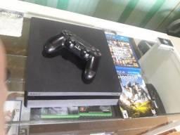 Playstation 4 Slim  Semi Novo com 1TB de HD