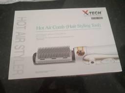 Escova de cabelo x-tech xt-el1003 3 em 1 / 2v - branco