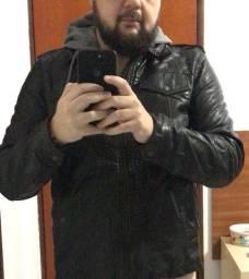 Jaqueta de couro com forro Levi's