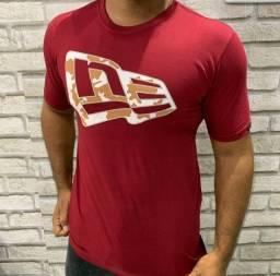 Título do anúncio: Promoção 3 por 100 reais - Camiseta Masculina New Era 100% Algodão