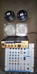Mesa de audio,amplificador,tweeter,Tl