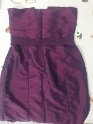 Título do anúncio: vestido tomara que caia em tecido m