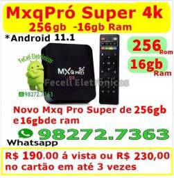 MxqPro Super 256gb/16gb ram - Android 11.1 - TvBox