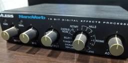 Efeito para voz Nanoverb Alesis (Mixer Instrumentos Musicais)