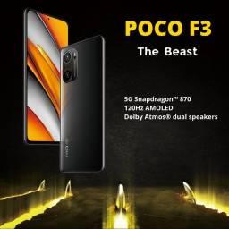 Xiaomi Poco F3 8gb/256gb - Melhor desempenho da categoria!!!