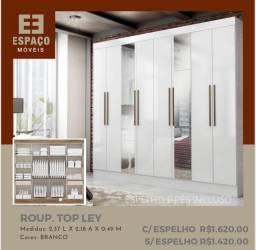 Título do anúncio: Guarda Roupas 8 Portas  Sem Espelho #Entrega e Montagem Grátis