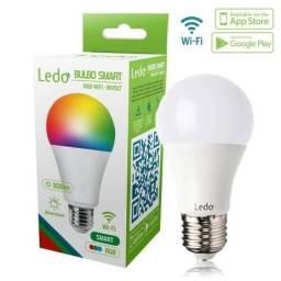Título do anúncio: Lâmpada Inteligente Bulbo Smart Led Rgb Wifi 10w Bivolt E27 - Entrega Grátis