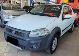 Título do anúncio: Fiat Strada 2018 3 Portas- Baixo km Aceito trocas!
