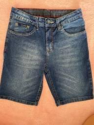 Bermuda jeans Calvin Klein ORIGINAL  TAM.10 anos