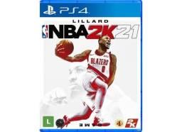 NBA2K21 E FIFA20 PS4