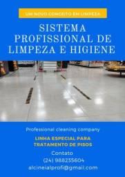 Produtos e serviços para limpeza profissional