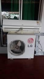 Vendo um ar condicionado LG 9 mil btus semi novo de 600 por 500$