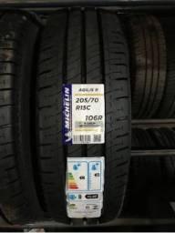 Pneu Aro 15 Michelin Agilis 205/70r15
