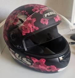 Título do anúncio: Capacete Peels Flores