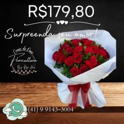 Título do anúncio: Buquê de rosas Vermelhas