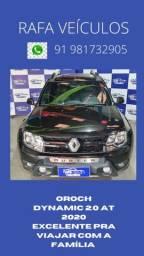 Título do anúncio: duster oroch dynamic 2.0 aut 2020 r$99.881-tanque cheio e película grátis