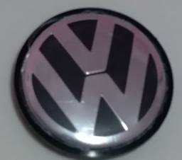 Calota central roda original VW Jetta Amarok Passat Tiguan e touareg 65mm