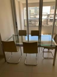 Mesa jantar com 6 cadeiras