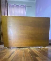 cama solteiro bibox madeira maciça + cama auxiliar