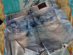 Short jeans única vez usado