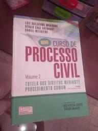 Curso de Processo Civil Tutela dos Direitos Mediante Procedimento Comum em bom estado