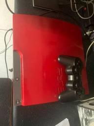 PS3 Vermelho Desbloqueado + Nintendo Wii Desbloqueado Troco em PS4 PRO