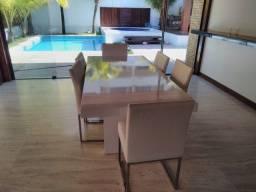 Mesa jantar Tok Stok com 6 lugares