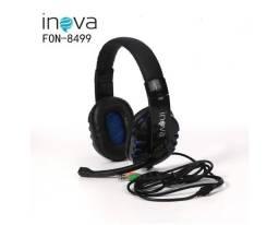 (NOVO) Headset estéreo para gamer Inova