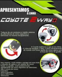 Ponteira NC700/750 Roncar Coiote 2way. Controle de saída Silencioso e Esportivo