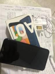 Samsung A01 novo NUNCA USADO