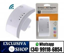 Repetidor De Sinal Wifi Expansor Wireless 300m Internet (Produto Novo a Pronta Entrega)