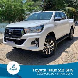 Título do anúncio: Toyota Hilux SRV 20/20 único dono diesel 4x4 ESTÁ DE ZERO!!!