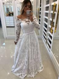 Vestido e Véu de Noiva
