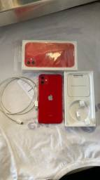 iPhone 11 64g red zerado