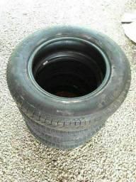 4 pneus  Fusca