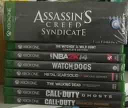 Jogos p Xbox one - novos e lacrados