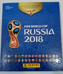 Álbum da Copa 2018 completo capa dura