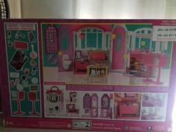 Barbie Casa De Férias Portátil - Mattel - Original